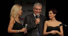 Rossella Diaco e Paola Aru, splendide presentatrici per un Patron felice